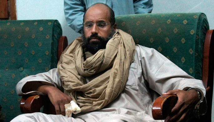 Сын Муаммара Каддафи хочет побороться запост президента Ливии