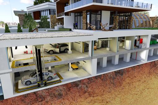 Проект частного бункера