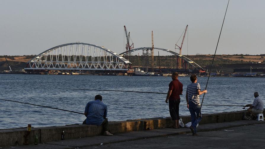 Названа дата запуска первого поезда поКрымскому мосту