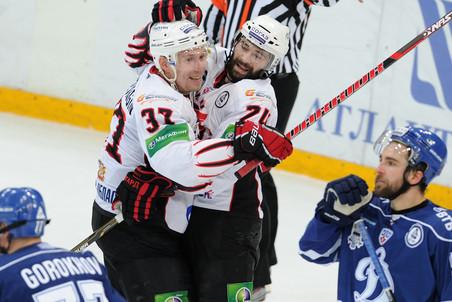 Авангард вышел вперед в серии с московским Динамо