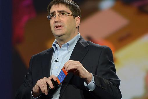 Компания Samsung продемонстрировала новый смартфон с гибким экраном на выставке в Лас-Вегасе