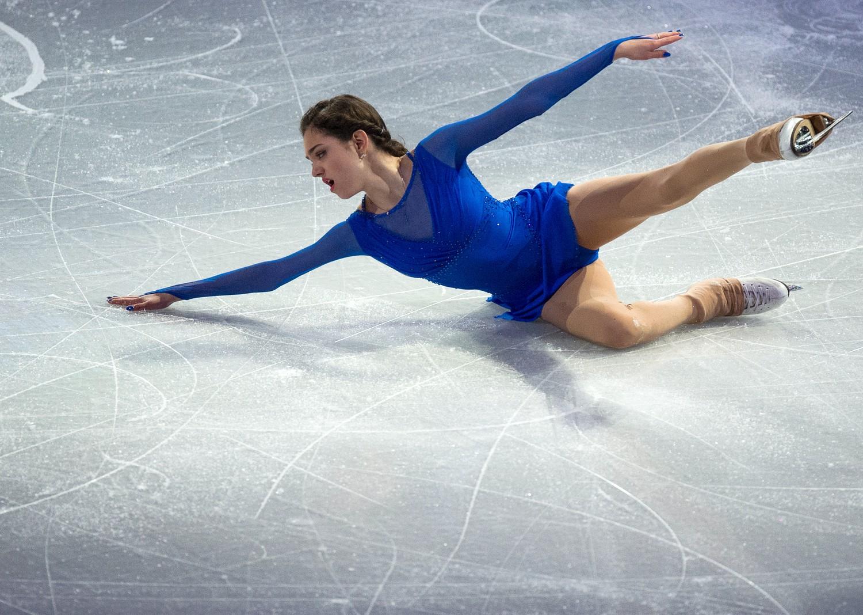 Молодая фигуристка Медведева триумфировала наэтапе Гран-при воФранции