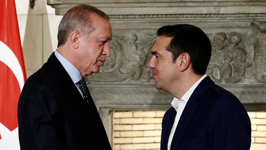 Эрдоган вГреции потребовал пересмотреть границы