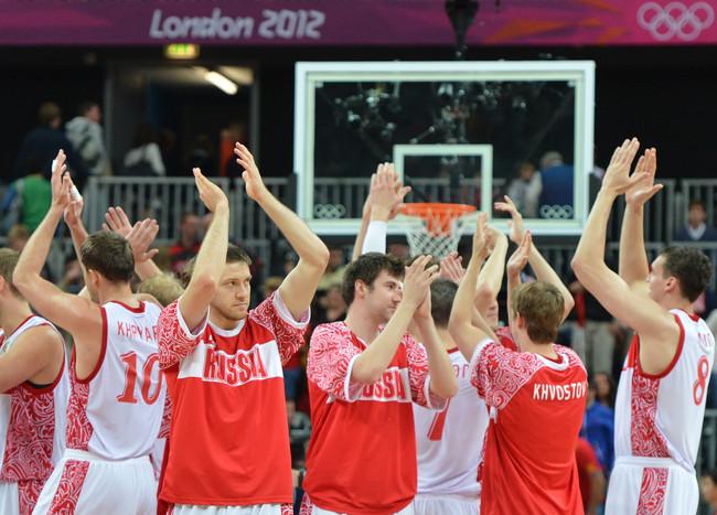 Российские баскетболисты обыграли испанцев — Газета.Ru | Фоторепортаж