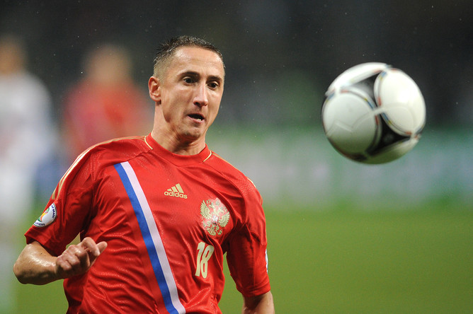 УЕФА сделает Быстрову новейшую медаль Евро-2008 взамен украденной