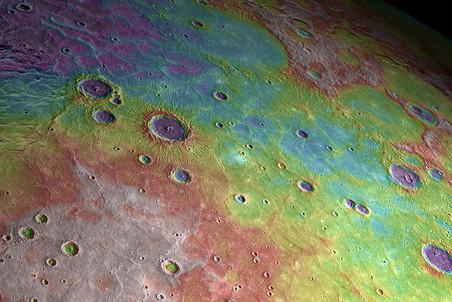 Планета Меркурий оказалась не такой, какой ее раньше себе представляли ученые