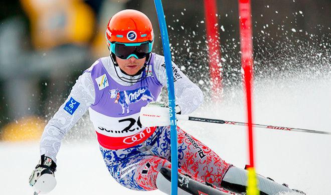 Шведский горнолыжник Мюрер взял золото вслаломе наОИ