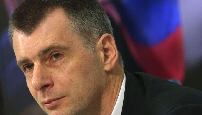 Прохоров невпечатлен: предприниматель отмахнулся отугроз Родченкова