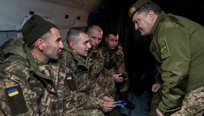АТО вДонбассе заканчивается, сейчас это «операция объединенных сил»— Порошенко