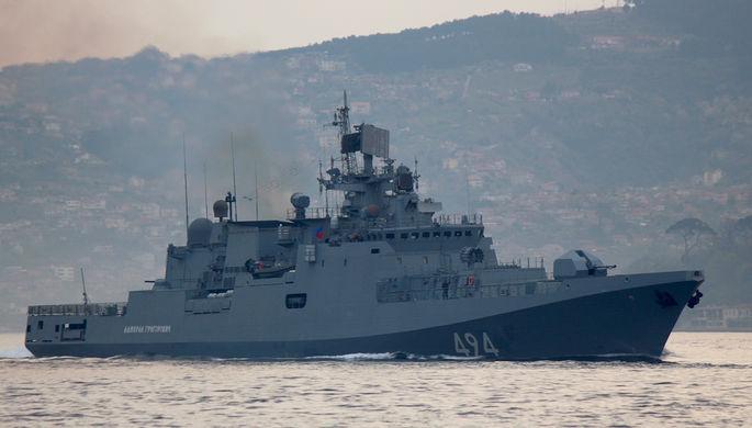 Два новых русских фрегата войдут вСредиземном море