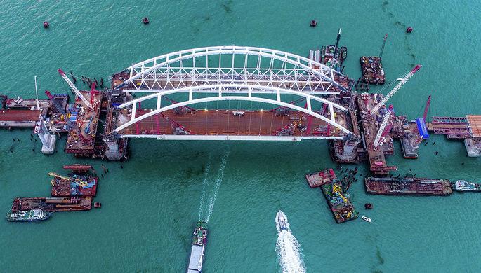 Киев желает расследовать строительство моста вКрым счерноморскими странами