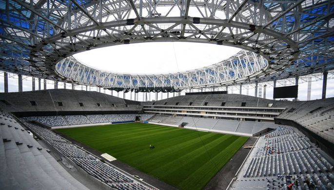 Стадион вКалининграде получил разрешение наввод вэксплуатацию
