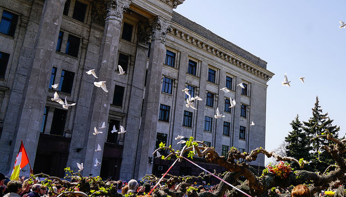 Обвиняемые вподжоге Дома профсоюзов вОдессе признаны невиновными