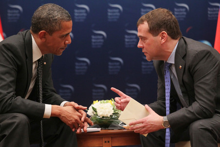 Medvedev and Obama Meet in Seoul, proud of reset progress