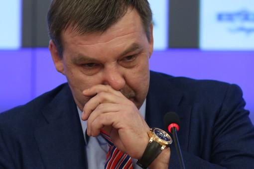Новый главный тренер сборной России по хоккею Олег Знарок