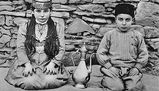 Дети крымских татар в Узбекистане