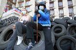 Жители Киева с тревогой наблюдают за событиями в Харькове, Донецке и Луганске