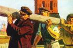 95 лет назад прошел первый коммунистический субботник