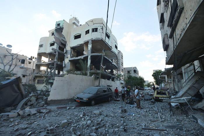 Израильские ВВС нанесли авиаудар награнице сектора Газа сЕгиптом