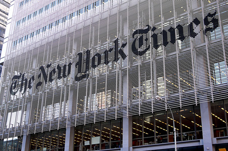 New York Times ��������� ���������� ������������-������ �� �������