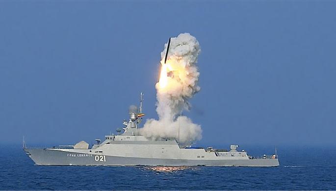РФвывела ракетные корабли с«Калибрами» вСредиземное море