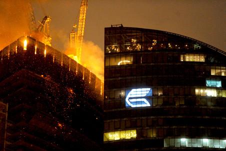 Мостройнадзор грозит остановить строительство в горевшей башне «Восток»