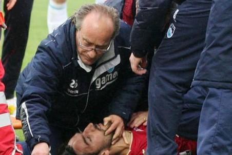 Италия скорбит по погибшему во время матча Пьермарио Морозини