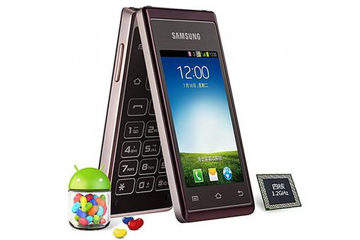 Компания Samsung представила смартфон-«раскладушку» Samsung Hennessy W789 с двумя сенсорными экранами