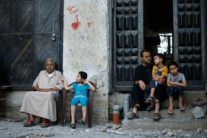 Задень всекторе Газа погибли четверо палестинцев, пострадали 445