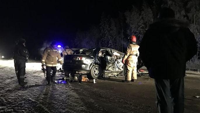 Следственный комитет Югры ищет очевидцев трагедии  на автотрассе  «Ханты-Мансийск- Нягань»
