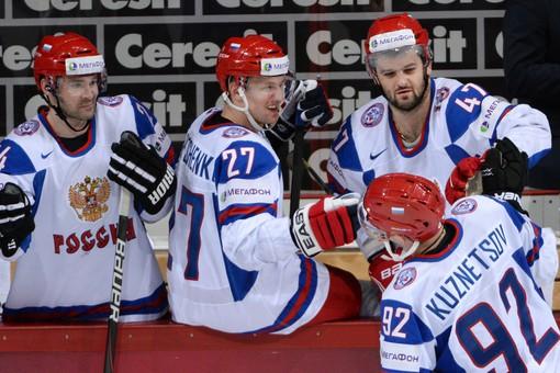 Пока у сборной России хорошее настроение