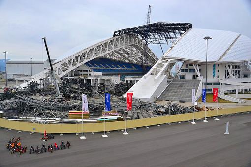 Олимпийский парк в Сочи год спустя