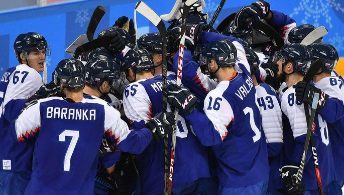 Хоккеисты Австрии наЧМ проиграли Словакии, аЮжная Корея— Латвии