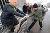 Police reports that they prevented a scuffle in front of the Moscow city court. Photographers...