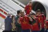 Испанские футболисты