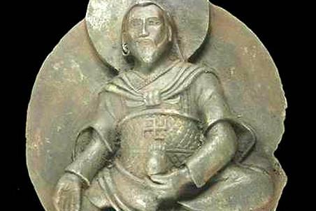 Буддистское божество «Железный человек», сделанное из метеорита