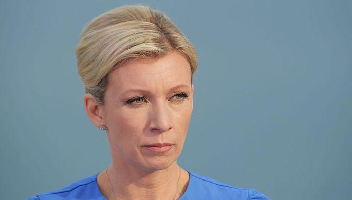 Захарова связала заявления украинской столицы  омилитаризации Крыма спрезидентской гонкой вгосударстве Украина