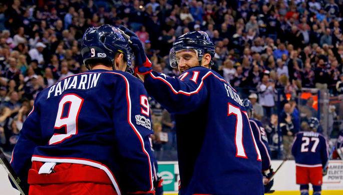 Шайба Панарина помогла «Коламбусу» побороть вматче НХЛ против «Баффало»