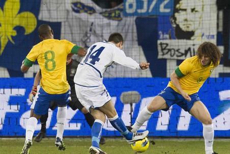 Сборная Бразилии обыграла команду Боснии и Герцеговины в товарищеском матче