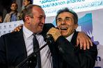 Кандидат от политического объединения «Грузинская мечта» Георгий Маргвелашвили...