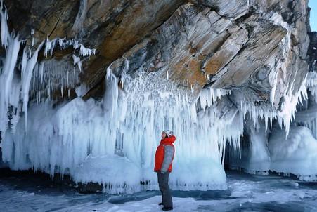 Путешествие по замерзшему Байкалу