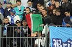 КДК наказал «Зенит» за поджог флага
