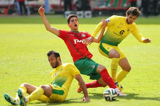 «Локомотив» в пятый раз подряд не смог победить «Анжи» в чемпионате России