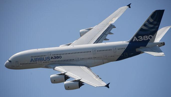 Airbus экстренно сел вЕкатеринбурге из-за поломки