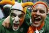 Ирландские болельщики