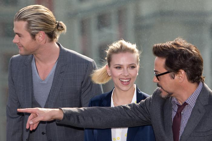 Актеры фильма «Мстители» в Москве — Газета.Ru | Фоторепортаж