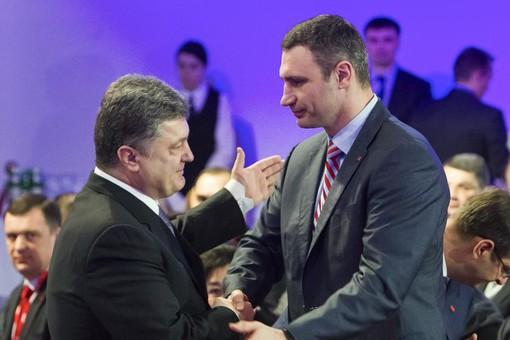 Кличко отказался идти в президенты