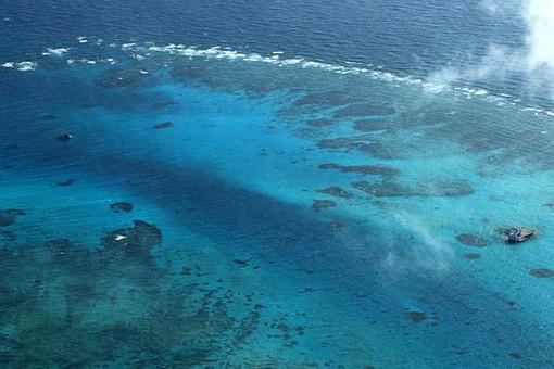 Один из атоллов Парасельских островов
