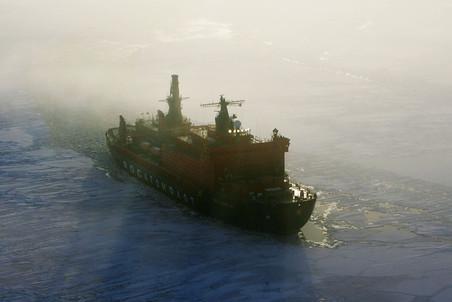 Репортаж с самого большого в мире ледокола