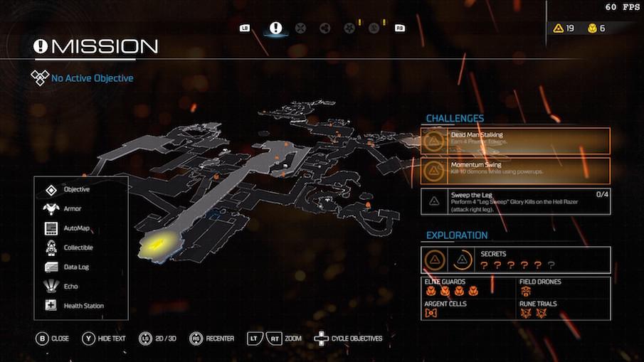 Типичная карта в Doom